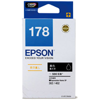 C13T178183 - High Capacity Black Ink (Compatible for XP-402 & XP-422 Only)