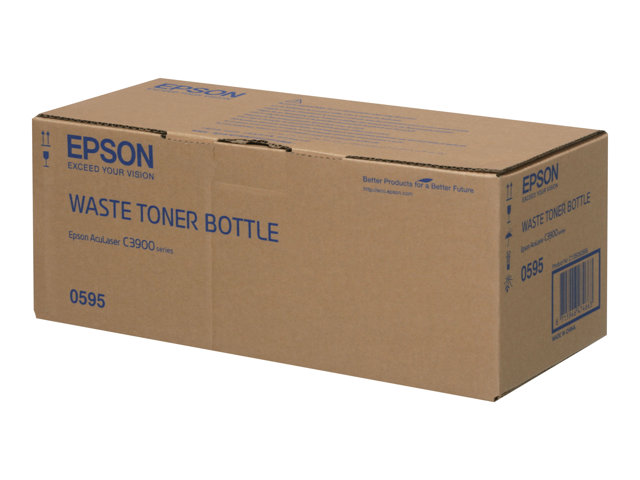 C13S050595 - C300 / C3900 /CX37 Series Waste Toner Bottle