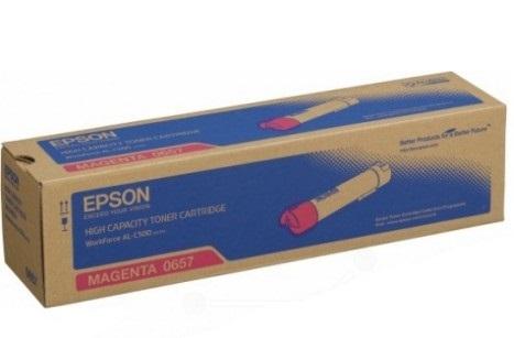 C13S050657 - AL-C500DN Series High Capacity Toner Cartridge (Magenta)