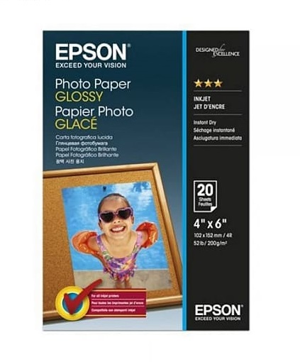 C13S042546 - Photo Paper GLOSSY (4R)(20 Sheets)
