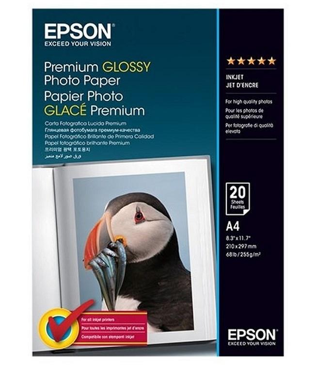 C13S041287 - Premium Glossy Photo Paper (A4)